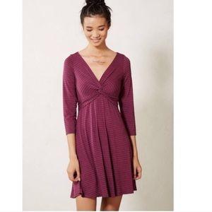 Lilka anthropologie striped knit dress